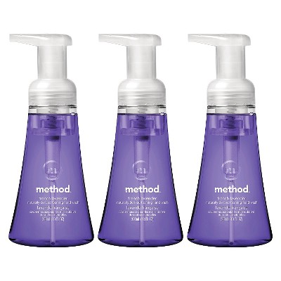 Method French Lavender Foaming Hand Wash 10oz - 3 pack ECOM