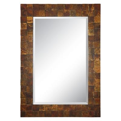 Uttermost Ambrosia Mosaic Mirror Copper