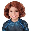 The Avengers: Age of Ultron Girl's Black Widow Child Wig