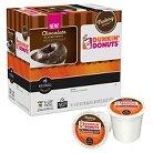 Dunkin' Donuts Chocolate Glazed Donut Coffee K-Cup pods 16 ct