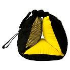 BubbleBum Sneck Travel Pillow - Black|Yellow