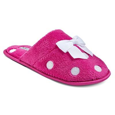 Women's Laura Ashley Slide Slippers - Pink L