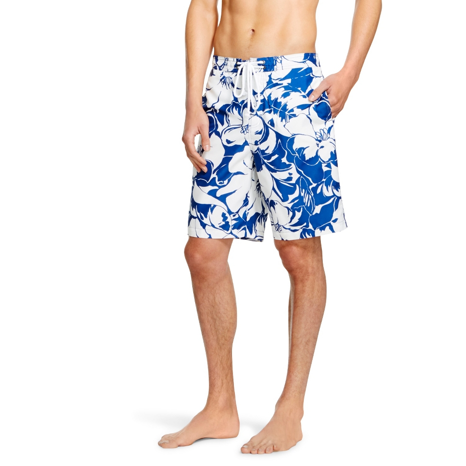 a323ab7d20 Mens Board Shorts Blue Floral Print Merona™ on PopScreen
