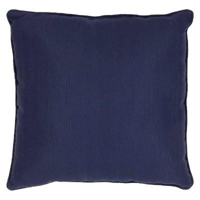 """Jaipur Veranda Handmade Polyester Pillow - Blue (20""""x20"""")"""
