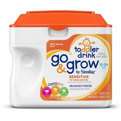 Similac Go & Grow Sensitive Stage 3 Toddler Formula - 1.38lb
