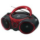 Jensen Built-in-Swivel Portable Stereo CD Player with AM/FM Stereo - Black (CD-490)