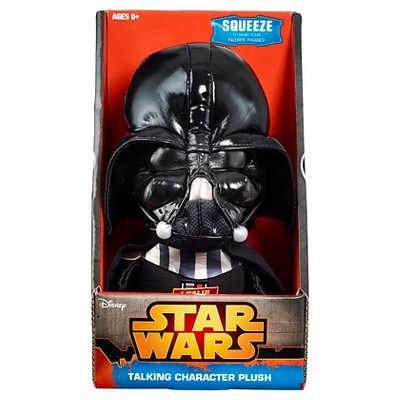 Star Wars Darth Vader Inch Talking Plush - 9""