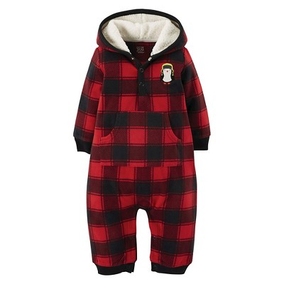 Just One You™ Made by Carter's® Boys' Jumpsuits Harvest Red NB