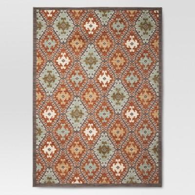 Threshold™ Sedona Tile Area Rug - Terracotta (7'x10')