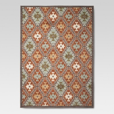 Threshold™ Sedona Tile Area Rug - Terracotta (5'x7')