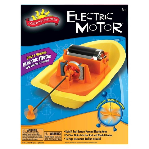 Scientific Explorer Electric Motor Mini Lab Target