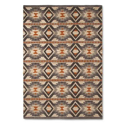 Mondrian Area Rug Gray (5'x7') - Threshold™