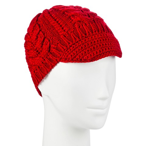 s cable knit beanie winter hat with brim target