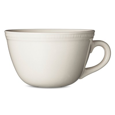 Camden Cappuccino Mug Cream Set of 4 - Threshold™