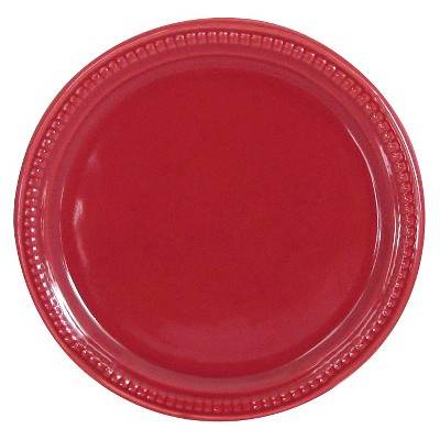 Camden Appetizer Plate Red Set of 4 - Threshold™