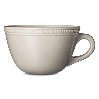 Camden Cappuccino Mug Light Gray Set of 4 - Threshold™