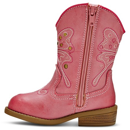 toddler darcy cowboy boots pink target