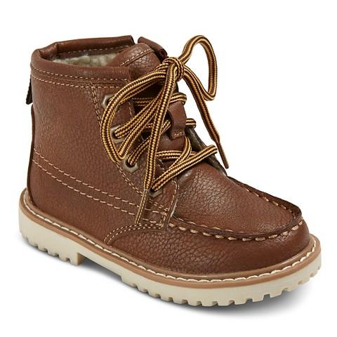 toddler boys helmer boots brown target