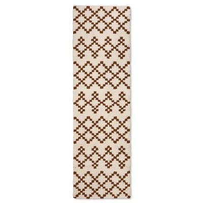 Threshold™ Tanzania Fleece Runner - Terracotta (1'10 x7')