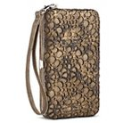 Cell Phone Case with Wallet and Removable Wristlet Strap - Bronze iPhone 6