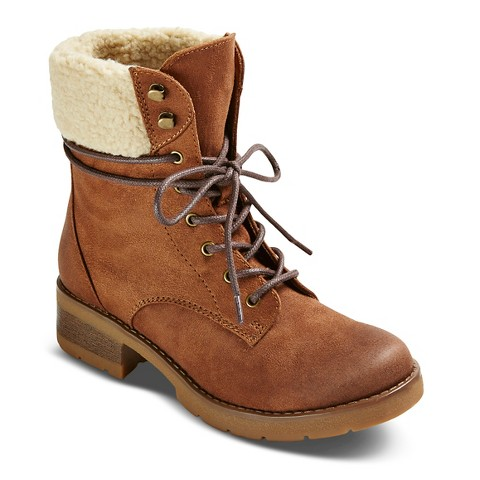 s dez shearling style boots mossimo supp target