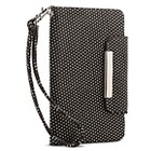 Cell Phone Case - Black with White Dots
