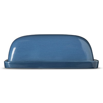 Camden Butter Dish and Gravy Boat Set Blue - Threshold™