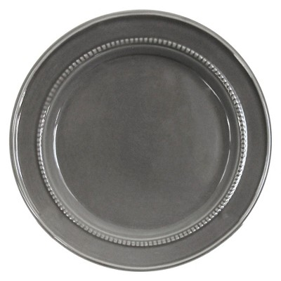 Camden Round Salad Plate Dark Gray Set of 4 - Threshold™