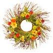 """Cosmos Mixed Wreath - Green (24"""")"""