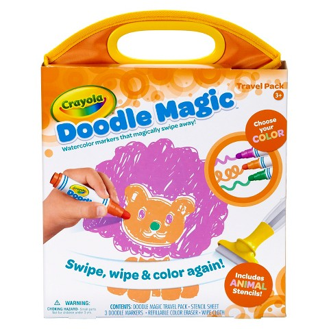 Crayola Doodle Magic Animal Travel Pack Target