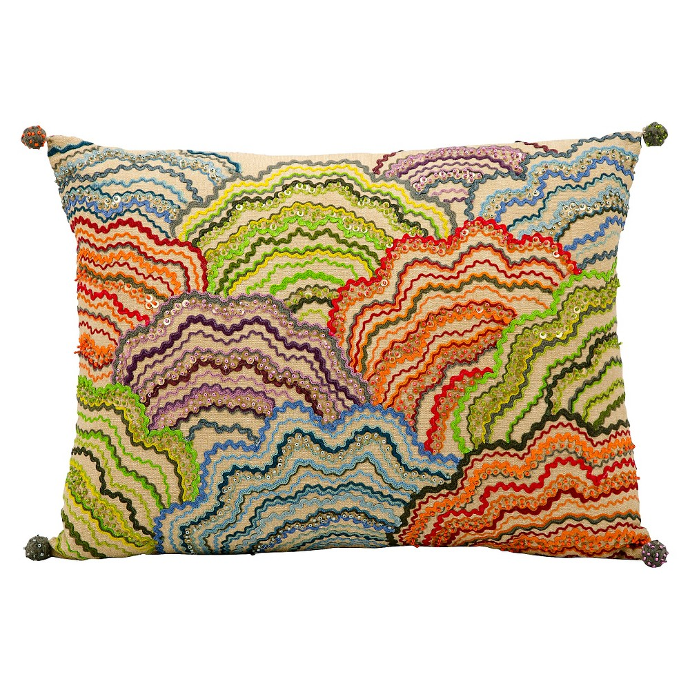 nourison clouds decorative toss pillow