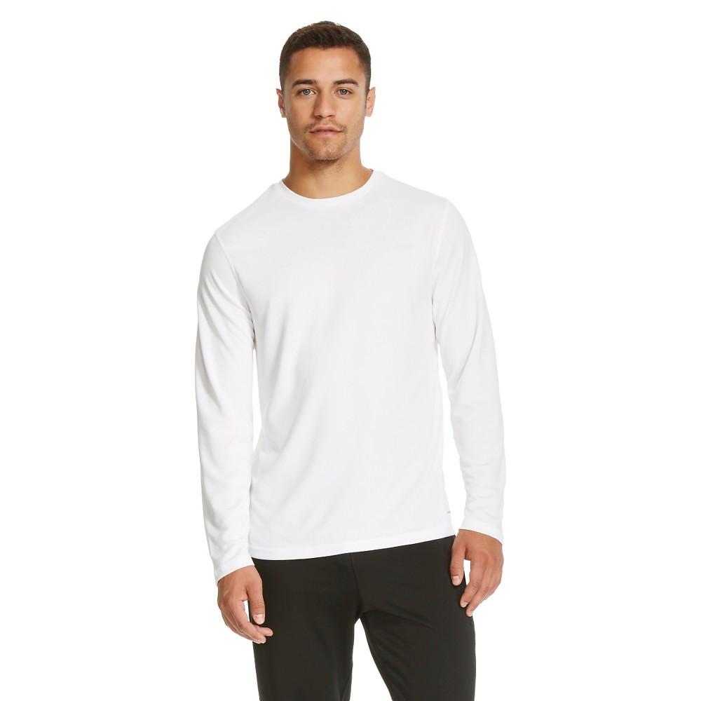 Men's Long Sleeve Tech T-Shirt - True White Xxl - C9 Champion