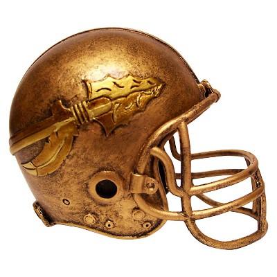 Florida State Seminoles Wild Sports Mini Bronze Helmet Statue