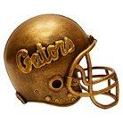 Florida Gators Wild Sports Mini Bronze Helmet Statue