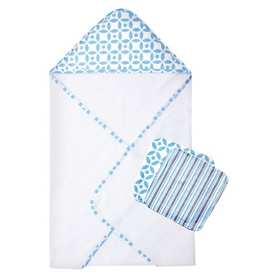 TrendLab Logan 3 Pack Bath Towel - Blue