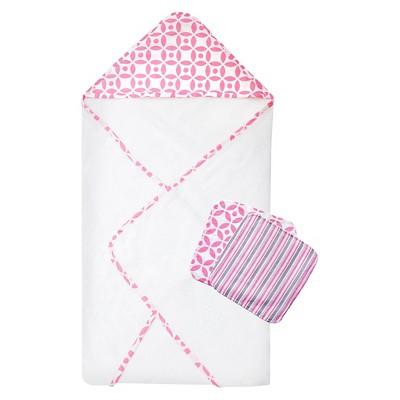 TrendLab Lily 3 Pack Bath Towel - Pink