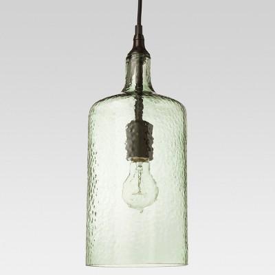 Artisan Glass Pendant - Ancient Aqua - Threshold™