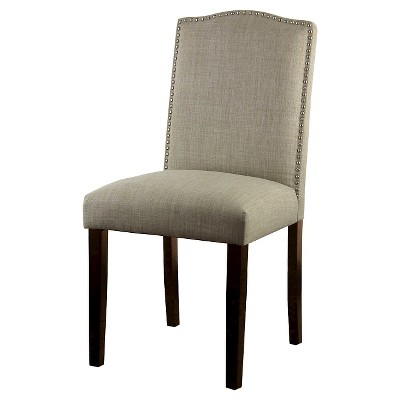Camelot Nailhead Dining Chair - Toast (1 Pack) - Threshold™