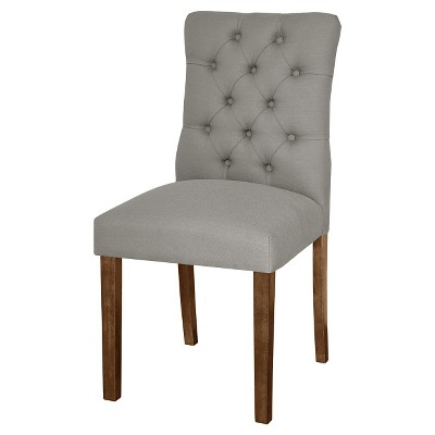 Brookline Tufted Dining Chair - Gray (1 Pack) - Threshold™