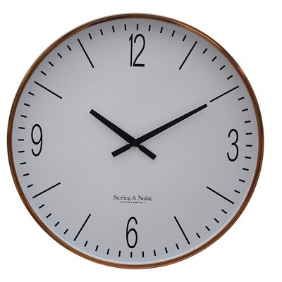 Threshold™ Wall Clock - Copper 17.5""