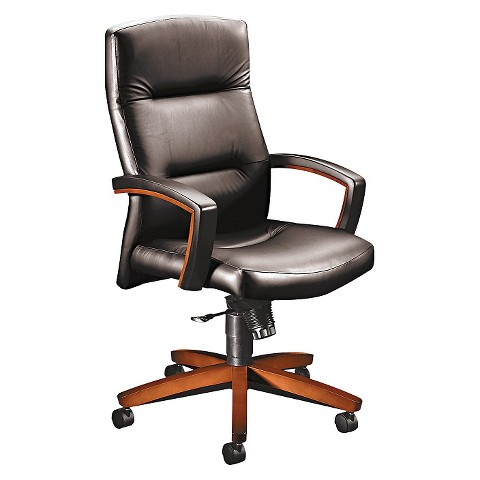 hon office chair black cherry