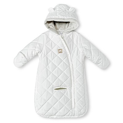 Ecom Gender Neutral One Piece Snow Suits Just One You OSFM Ivory