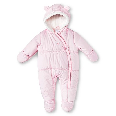 Just One You™ Made by Carter's® Hooded Snowsuit Light Pink NB