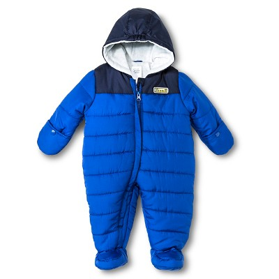 Just One You™ Made by Carter's® Hooded Snowsuit Blue NB