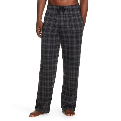 Men's Plaid Pants Charcoal L - Merona™