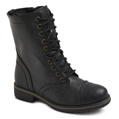 s mossimo supply co gwen combat boots ebay