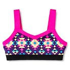 Girls' Gymnastics Printed Crop Top- Circo® XS