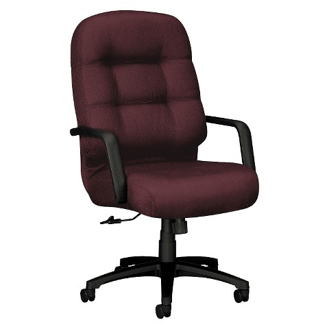 hon office chair wine black product details page