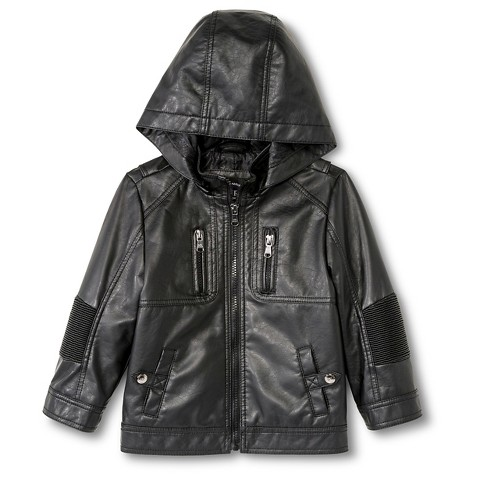 Urban Republic Toddler Boysu0026#39; Faux Leather Jacket...  Target