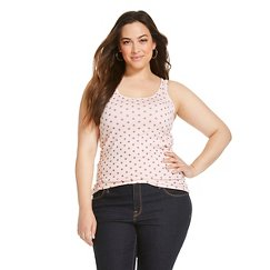 Women's Plus Size Favorite Tank Crystal Pink - Merona™